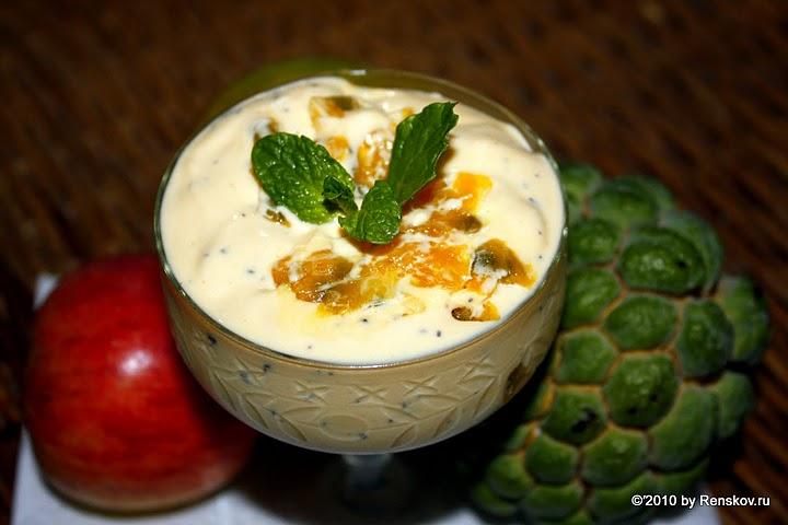 Крем джи маракужа с манго